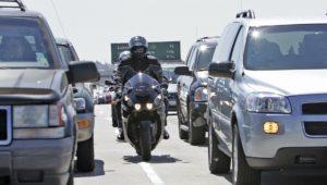 California legalizes motorcycle lane splitting