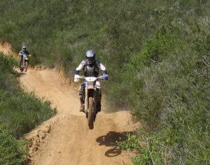 Dirt bike riders at Holliser Hills SVRA